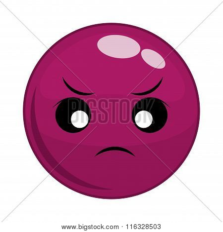 Funny cartoon face