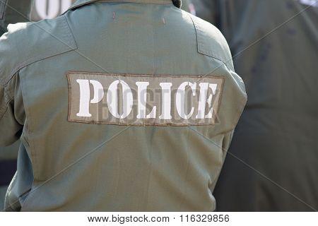 Explosive Ordnance Disposal Police