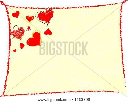 Valentine'S Day Background - Vector Illustration
