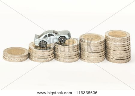 Concept photo of car expenses