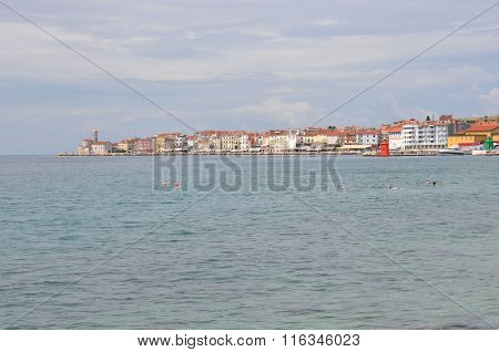Piran On Slovenian Coast