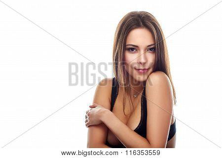Beauty woman portrait