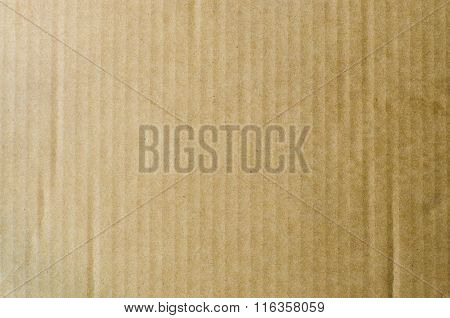 Flat gradiant brown cardboard paper texture background