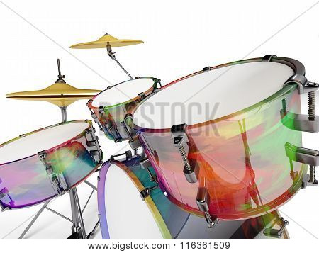 Closed Drum Set
