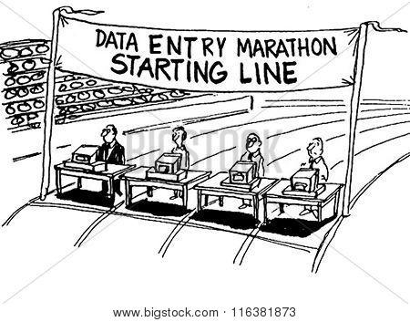 Data Entry Marathon