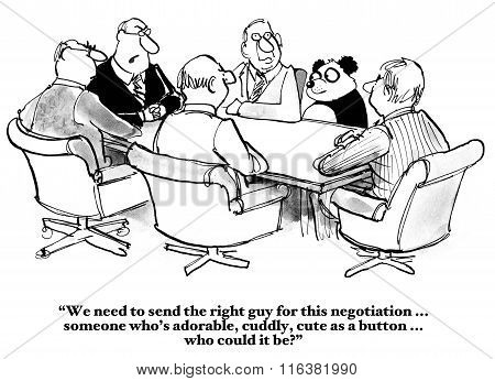 Panda for the Negotiation