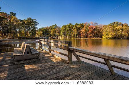 Arkansas Fall Landscape, Petit Jean State Park