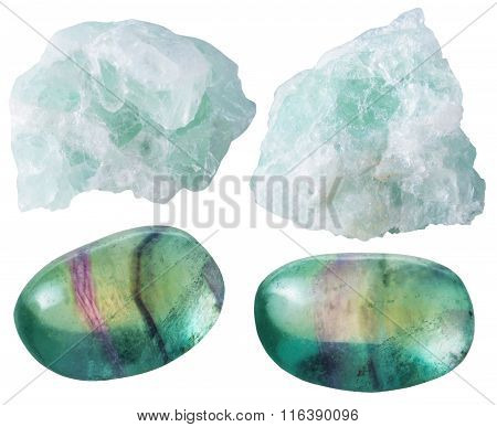 Fluorite (fluorspar) Tumbled Gem Stones And Rocks