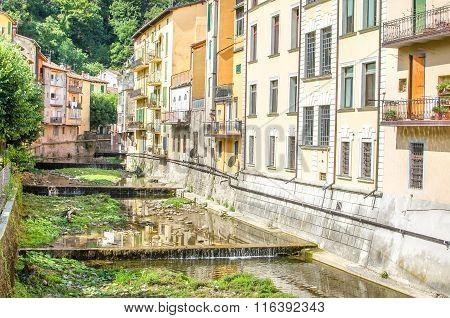 Porretta Terme - Bologna - Reno river Tributary Canal