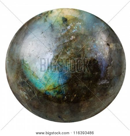 Cabochon From Labradorite Mineral Gem Stone