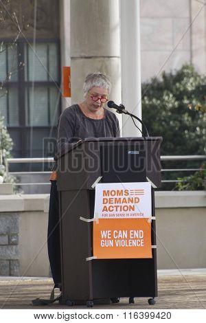 Moms Demand An End To Gun Violence