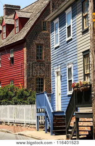 Streets of Old Town Annapolis