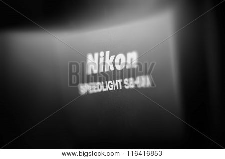 Nikon Speedlight Professional Light Flash Detail