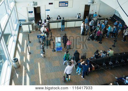 Tokyo Narita Airport Gate Boarding