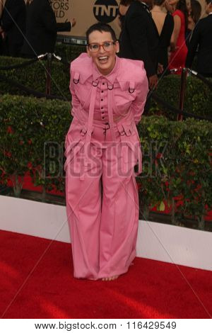 LOS ANGELES - JAN 30:  Lori Petty at the 22nd Screen Actors Guild Awards at the Shrine Auditorium on January 30, 2016 in Los Angeles, CA