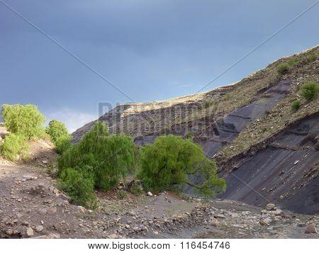 Beautiful Colorful Mountains Cordillera De Los Frailes In Bolivia