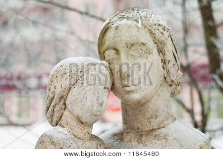 Sculpture Of Mother And Child