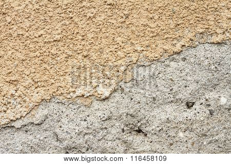 Cracked Plaster On Wall
