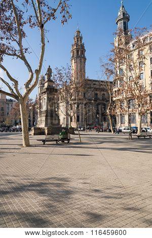 Placa de Antonio Lopez in Barcelona