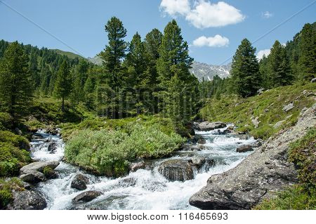 Alpenlandschaft, Debanttal