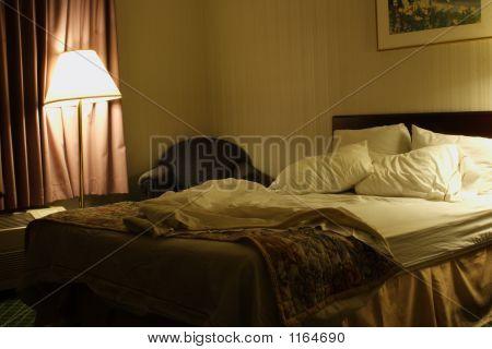 Slept In Hotel Bed
