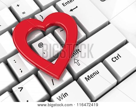 Heart Icon On Keyboard