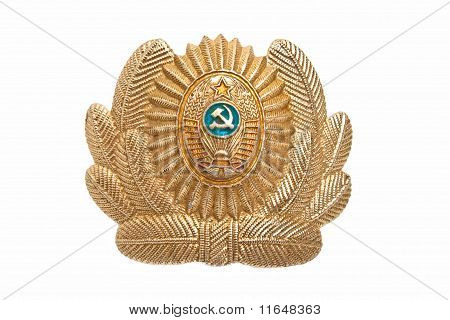 Cockarde Of Militia Of The Ussr