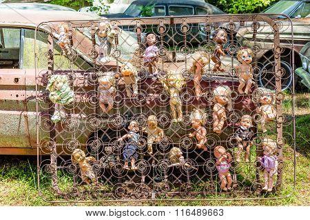 Dolls In Box Springs