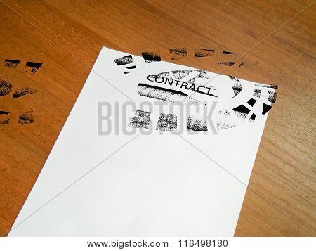 Trampled Contract