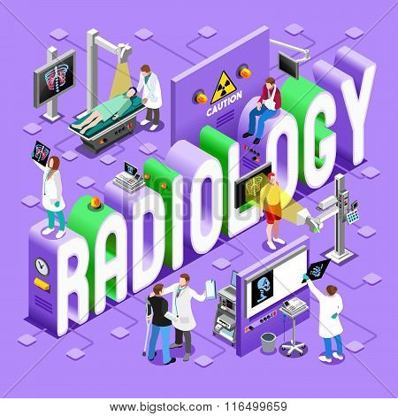 Radiology 01 Concept Isometric