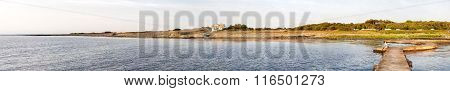 Torekov Coastline From Pier