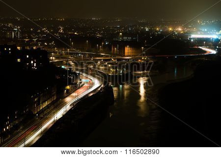 View of Bristol from the Clifton Suspension Bridge