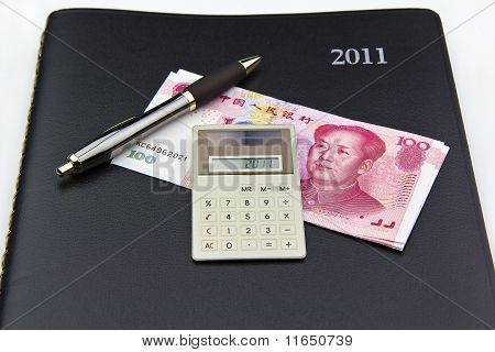 2011 Day Planner For Finances