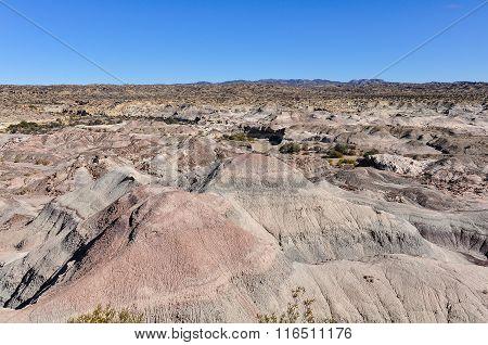 Lunar Landscape In The Ischigualasto National Park, Argentina