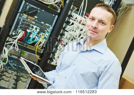 network engineer admin at data center