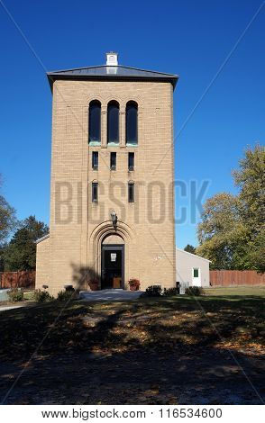 Bell Tower at the Woodlawn Memorial Cemeter
