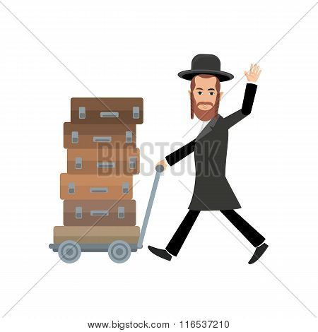 jew with bags