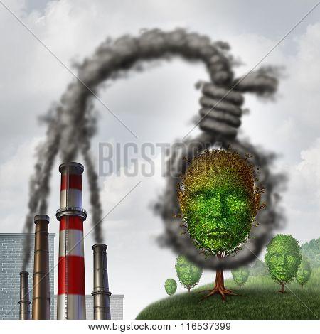 Environmental Suicide