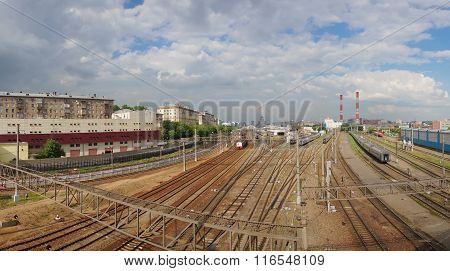 Railway In City