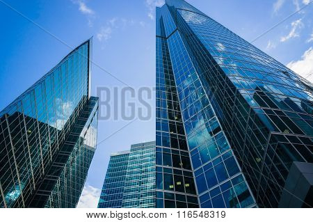 Moscow City Skyscrapers
