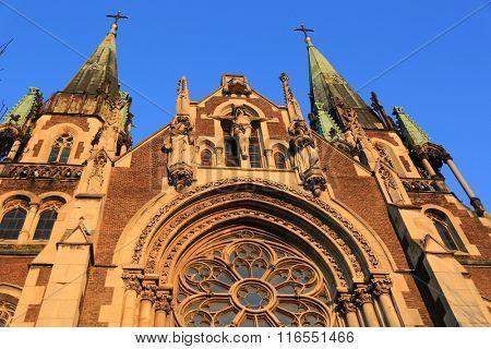 Church of Sts. Olha and Elizabeth. Lviv, Ukraine