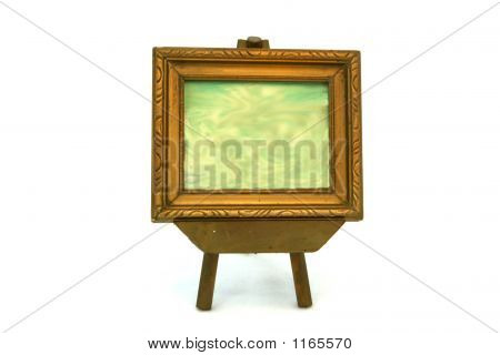 Frame On Easel W Background