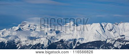 Swiss Mountain Panorama