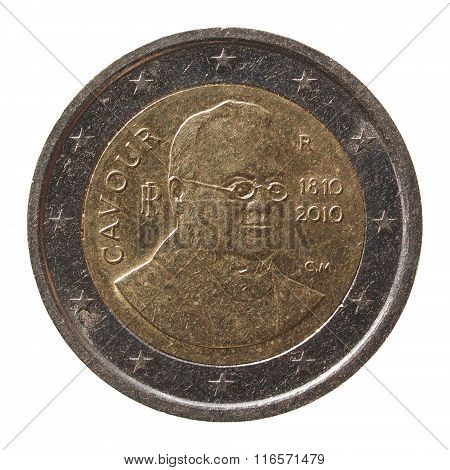 2 Euro Coin From Italy