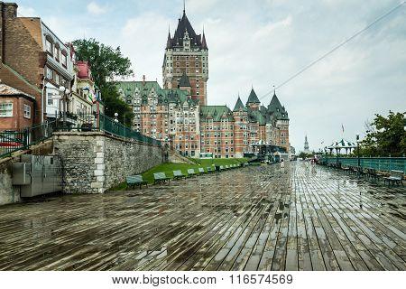 Quebec Riverside Boardwalk
