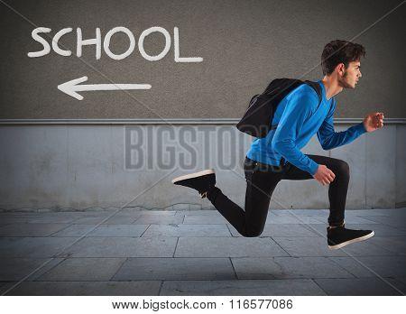 Run away from school