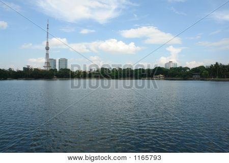Hanoi Tower Landscape
