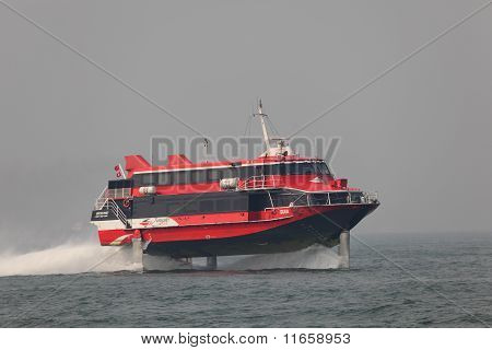 High Speed Hydrofoil Ferry Boat