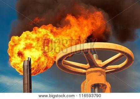 The gas valve