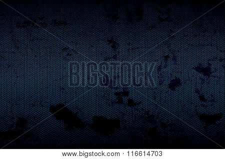Black And Blue Metallic Mesh Background Texture